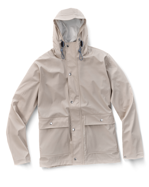 Rain Coat Beige Knowledge Cotton Apparel